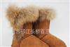 大批量供应狐狸毛雪地靴多种款式可选