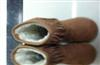 2011冬新款女式流苏单扣雪地靴