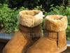 新款5825雪地靴恩彩雪地靴 AE雪地靴浅棕色