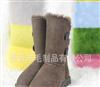 可水洗雪地靴/新款雪地靴/羊毛靴 牛皮羊毛雪地靴