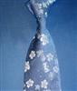 供应真丝电脑提花、纯手工制作、花卉花型领带(图)