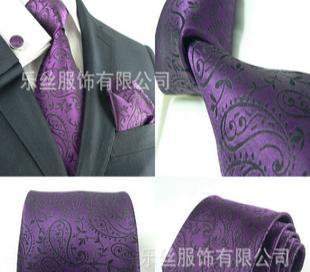 专业定做各种新款时尚领带套装----多款供选