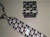 供应扑克牌图案真丝印花领带(图)