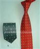 专业生产全棉印花挂扣领带
