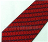 供应100%南韩丝条纹提花领带,颜色:蓝色,黑色等