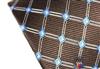 三变钱塘专柜 男真丝领带 商务正装加长礼盒领带 电脑色织格纹102