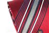 三变钱塘 桑蚕丝真丝领带 商务正装 结婚中国红条纹领带 色织115