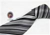 三变钱塘 商务正装 男士真丝领带 韩版加长电脑色织提花领带112