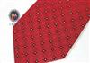 三变钱塘 真丝领带 商务正装 结婚领带 电脑色织喜庆红色领带129
