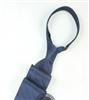 三变钱塘 电脑色织提花  高档男士商务领带真丝领带 暗纹蓝色
