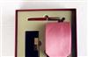 皮尔卡丹  男士超值婚用正品礼盒套装 钢笔+领带+名片夹 三件套