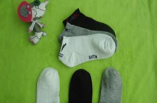 短款男士成人袜子批发 运动船袜 牌子多种 可选颜色