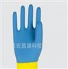法国代尔塔 天然双色乳胶浸胶手套