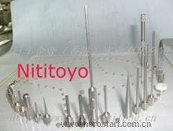 日本三丰量表测针/平面测头/针型测针