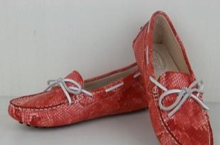 2012款进口牛皮马毛镜面真皮女装豆豆鞋 TODS版休闲女鞋加工批发