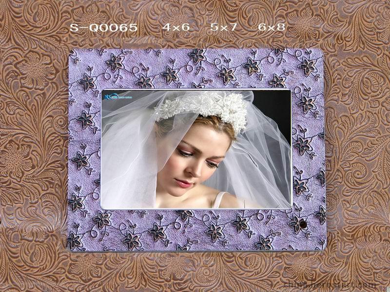 高档结婚皮相框相册