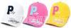 5色 2012 童帽批发 儿童宝宝P字母棒球帽 韩版鸭舌帽 EBQ12005