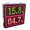 供应温湿度大屏显示器(TH64A)