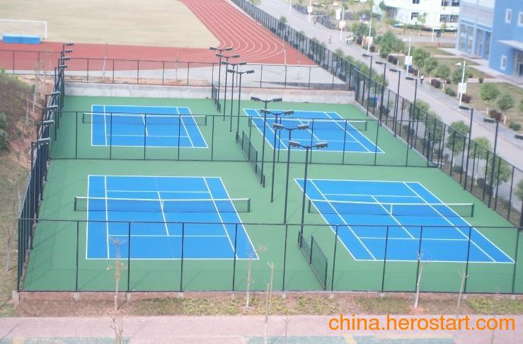 供应承建球场施工篮球场网球场设计方案公司