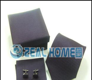 真丝领带 紫色底白点领带 男士正装领带 衬衣领带 男人领带 S262
