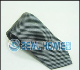 真丝领带 黑灰印花领带 男士正装领带 上班领带 衬衣领带 D223