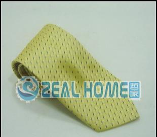 真丝领带 黄色印花领带 男士正装领带 衬衣领带 男人领带 D011