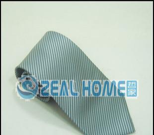 真丝领带 灰色条纹领带 正装领带 衬衫领带 男士领带 纯色 S034