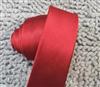 旗彤 大红色细条纹 5CM窄版休闲 韩版学生潮流领带 男女都适合