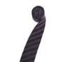 涤纶丝斜条纹提花领带头