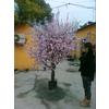 常青藤专业制作加工仿真桃花树,桃花枝