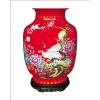 供应湖南醴陵陶瓷器厂家 高档陶瓷器花瓶 陶瓷家具工艺品公司 松鹤延年
