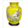 供应陶瓷家具工艺品公司 湖南醴陵瓷器厂家 高档陶瓷器花瓶 松鹤延年