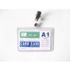 供应透明防水PVC卡套(可定做各种规格)