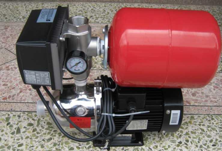 恒压变频泵/智能家用增压泵/不锈钢全自动恒压增压水泵/恒压供水