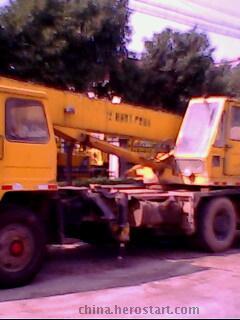 徐工12吨汽车吊转让