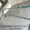 供应北京厂家直销刺绳护栏网 刀片丝网
