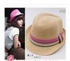 2011新款防晒遮阳用品 彩带礼帽爵士帽