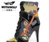 沃泰狼2011最新时尚潮流多款颜色 多选择女高帮高跟运动鞋