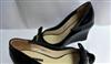 2011时尚春秋新款鱼嘴坡跟单鞋  羊皮里真皮大底