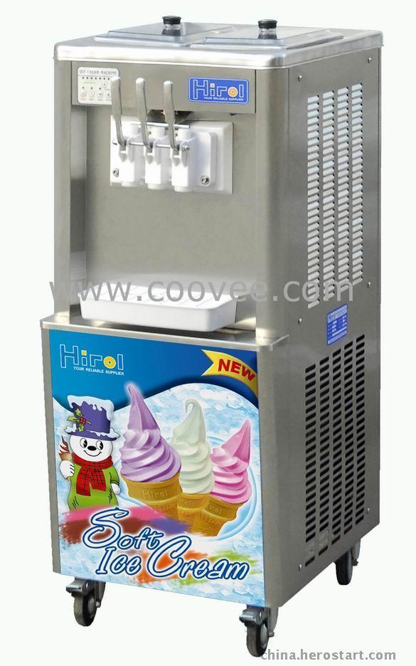 冰淇淋机器价格|三色冰淇淋机