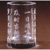 供应水晶笔筒水晶商务办公摆件礼品工艺品小饰品西安订做加工批发