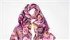 真丝围巾批发 素皱缎围巾采购 数码喷绘围巾披肩 品牌围巾丝巾