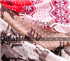 围巾批发 外贸围巾 超人气韩版围巾 雪花小鹿围巾
