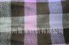 供应大格纹拉毛厚款腈纶梭织围巾