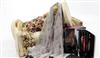 凯米尔·酷 最新 雅致灰 200支超轻薄羊毛围巾 W11260Y