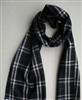 供应内蒙古美利奴羊毛围巾 长款流苏保暖羊绒格型羊毛围巾