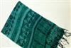 春秋新款古典印花深色棉质印花休闲百搭围巾