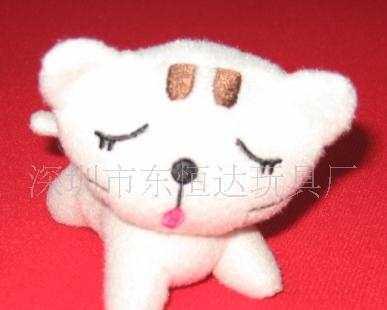 深圳东恒达玩具厂手机挂件吊饰公仔挂件促销礼品填充毛绒公仔加工