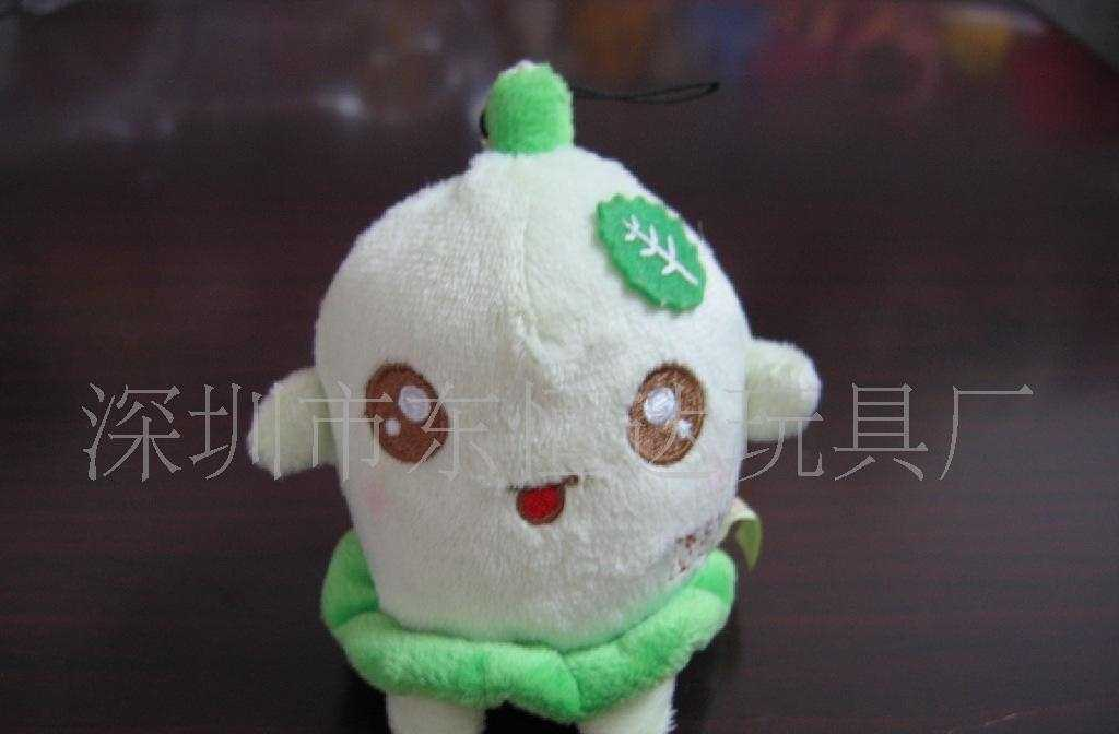 深圳市东恒达玩具厂填充毛绒玩具公仔手机挂件吊饰布绒产品加工