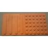 供应贵阳厂家专业生产30*30盲道砖   专利出口橡塑盲道砖